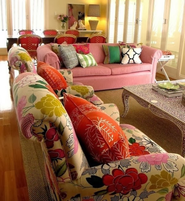 Floral Chairs Home Decor