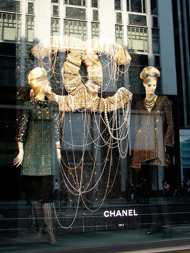 Beautiful Window Displays Chanel Paris Byzance Window