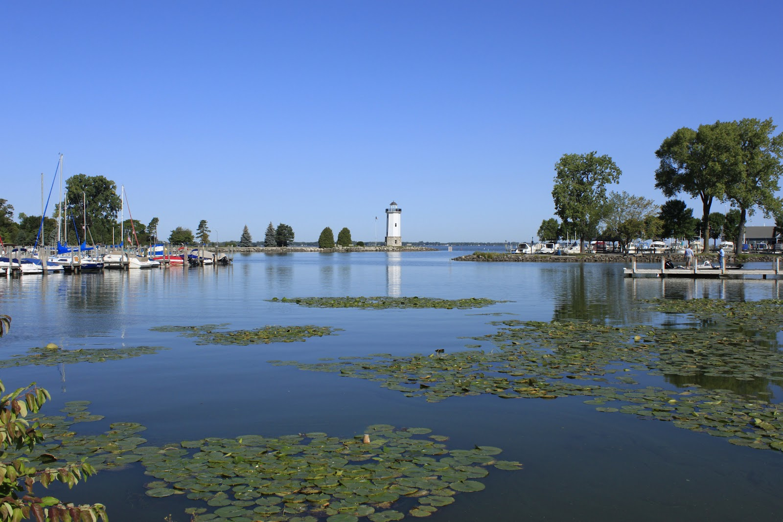 Wisconsin Historical Markers Fond Du Lac Lighthouse