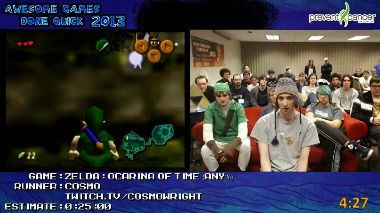The Legend of Zelda Ocarina of Time SpeedRunners