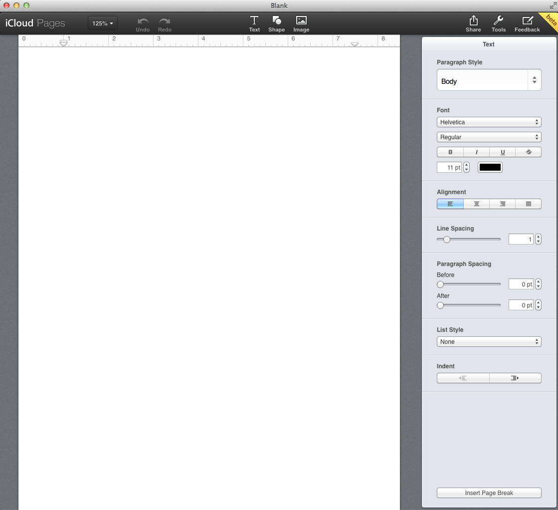 The macmentor google docs vs pages for icloud for Documents pages icloud