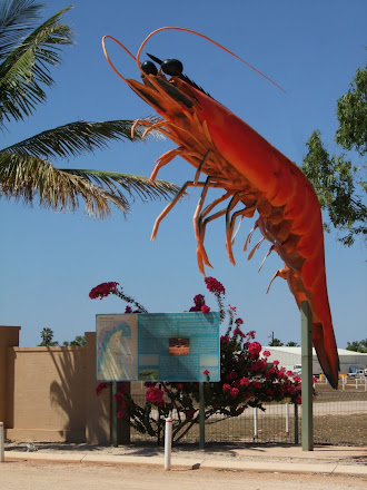 No we are not at the big prawn NSW