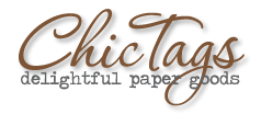 ** Chic Tags- delightful paper tag **