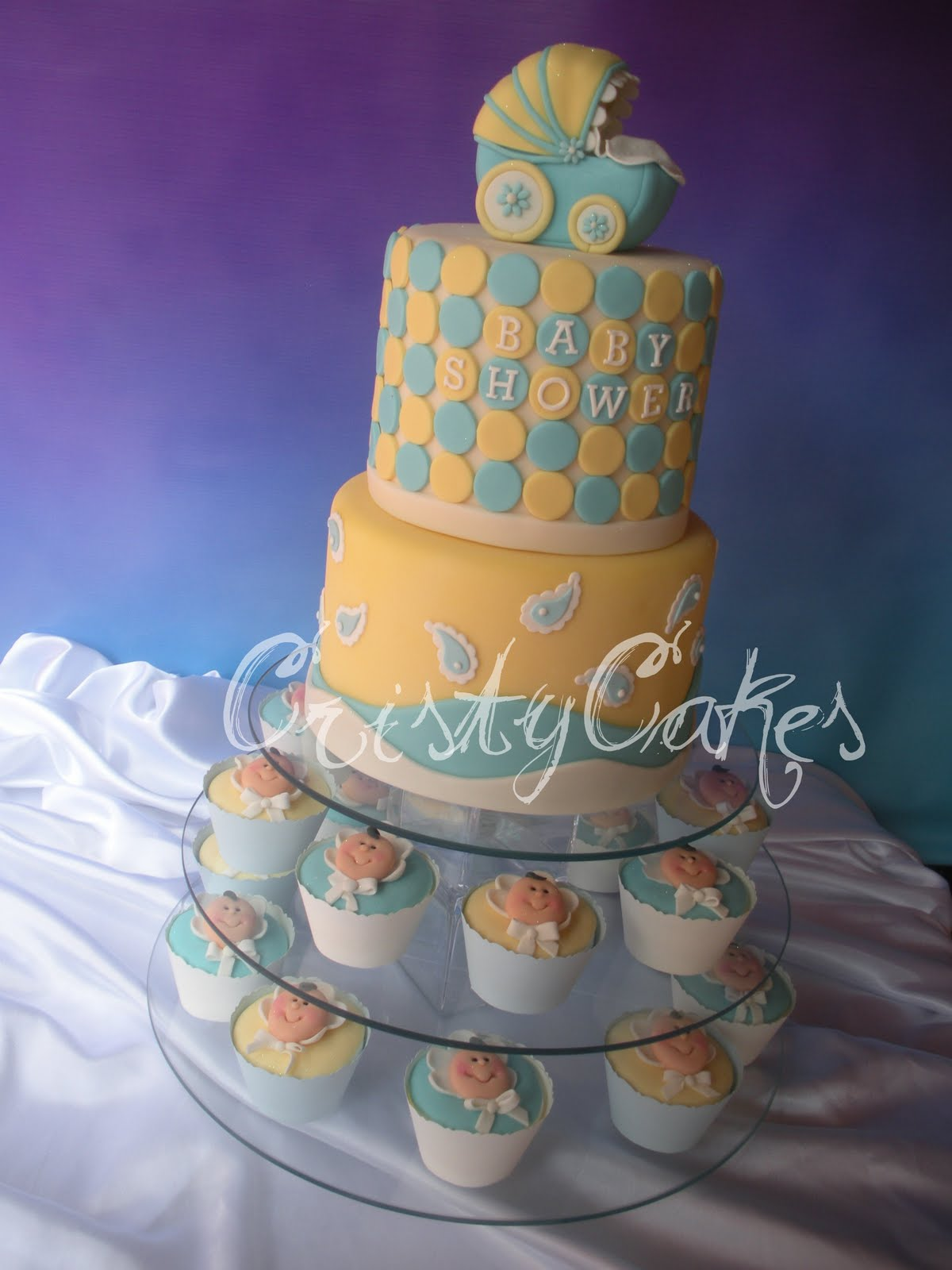 Cristy's Cakes: Baby Shower, Es un varón / It's a Boy