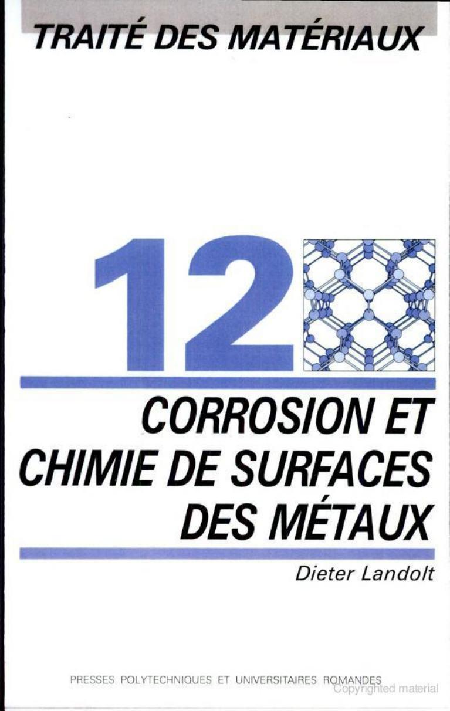Corrosion et chimie de surfaces des m taux