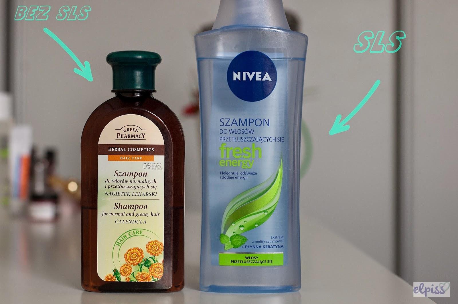 Elfa, Green Pharmacy, Szampon do włosów normalnych i przetłuszczających się z nagietkiem lekarskim Nivea, Fresh Energy, Szampon do włosów normalnych i przetłuszczających się