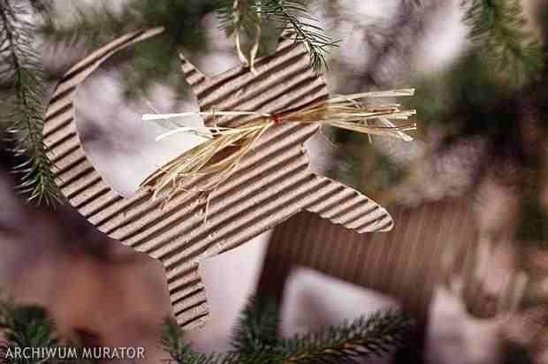 Naturalna dekoracja świąteczna