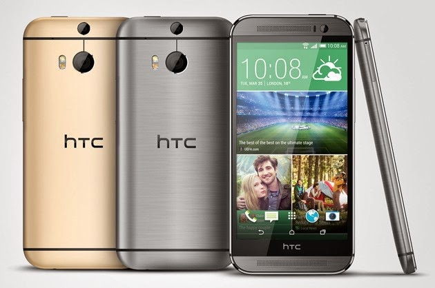 HTC One M8 HTC officially unveils the all new