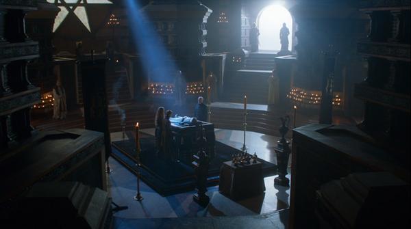 El velatorio del rey Joffrey