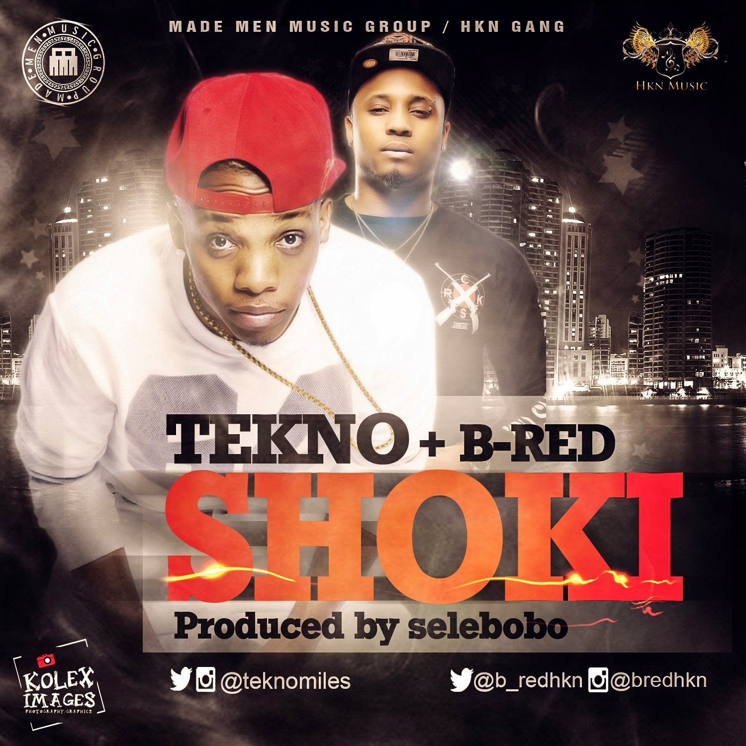 Tekno & B-Red – Shoki