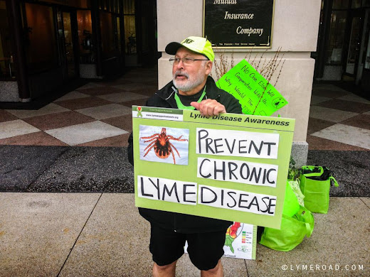 Chicago Lyme Protest