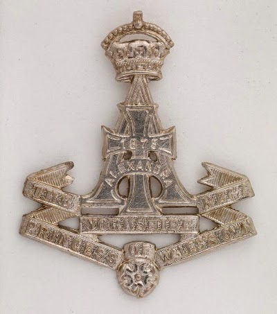 Yorkshire Regiment Cap Badge © IWM (INS 7212)