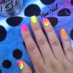 summer nail designs, nice summer nail designs
