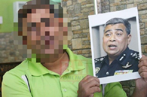 Warga Bangladesh ini jadi Viral kerana wajah mirip Ketua Polis Negara