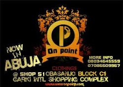 ON point clothing now in ABUJA!!