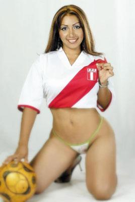 Las peruanas se zafaron Daysi-arau