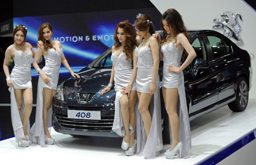 2012 Bangkok Motor Show Girls