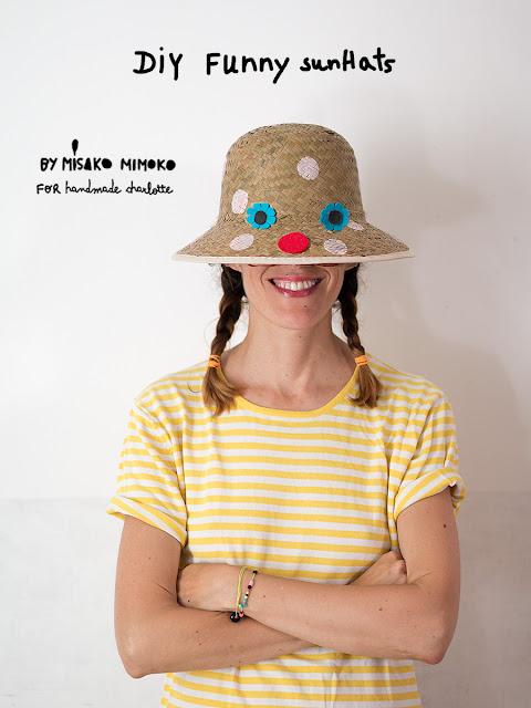 DIY sombrero por Misako Mimoko