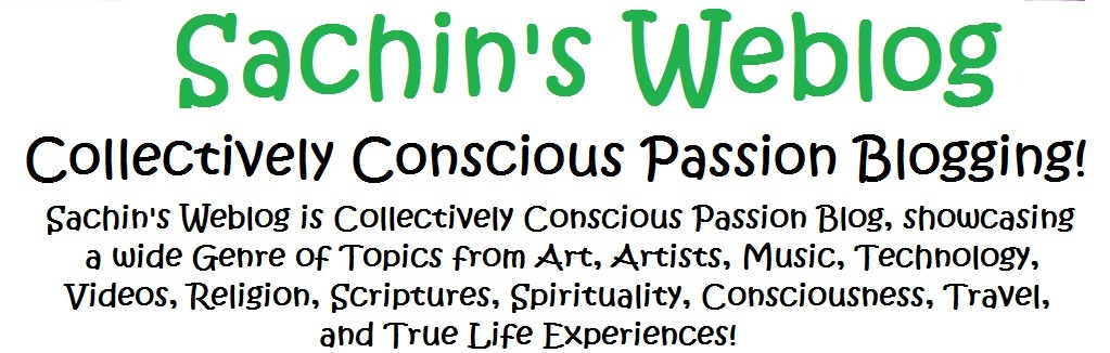 Sachin's Weblog