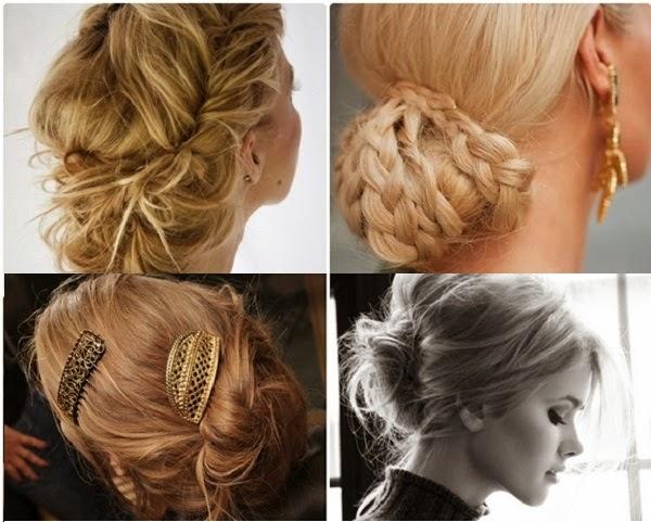 Penteados simples e sofisticados