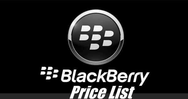 BlackBerry Price List in Pakistan