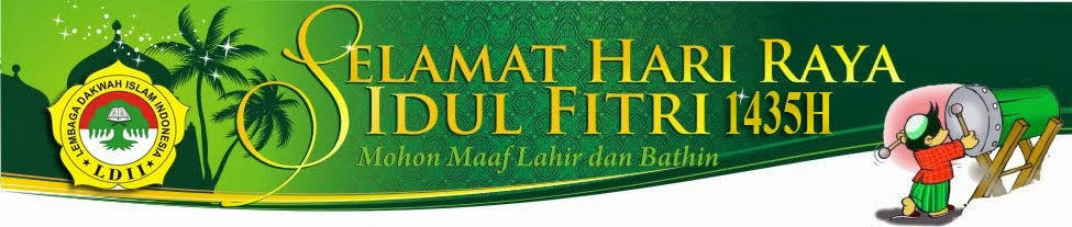 Selamat Idul Fitri 1435H