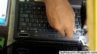 cara buka keyboard laptop