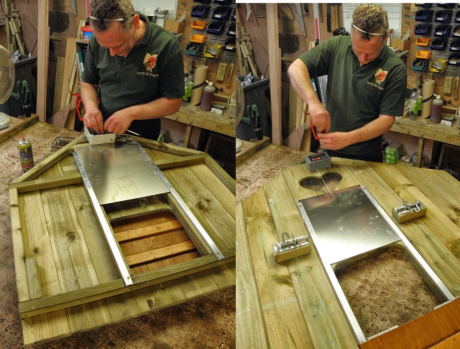 Free Fitting of Door Units to Your Hen House