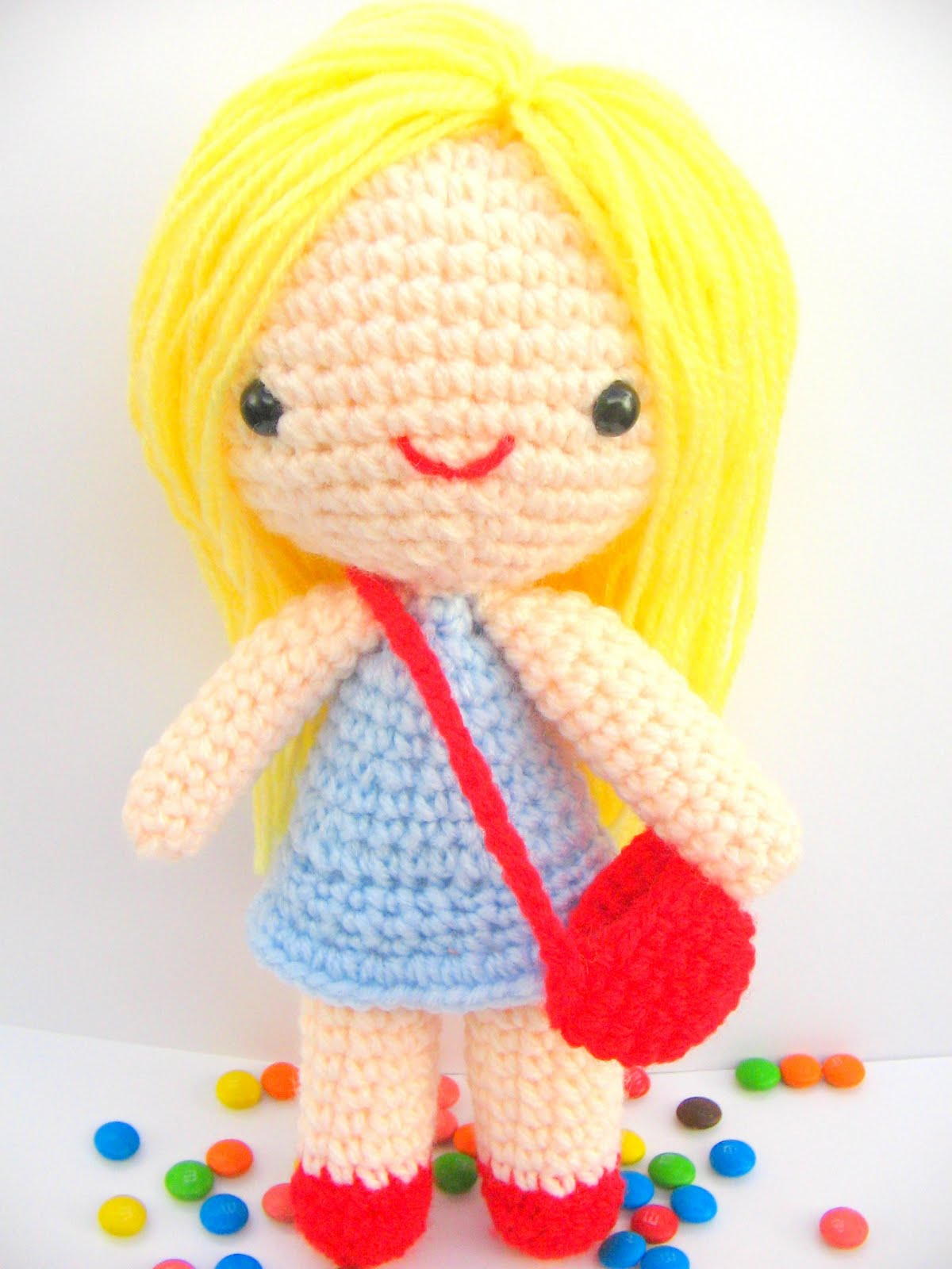 Crochet Doll Pattern Cute : 2000 Free Amigurumi Patterns: Free amigurumi pattern ...