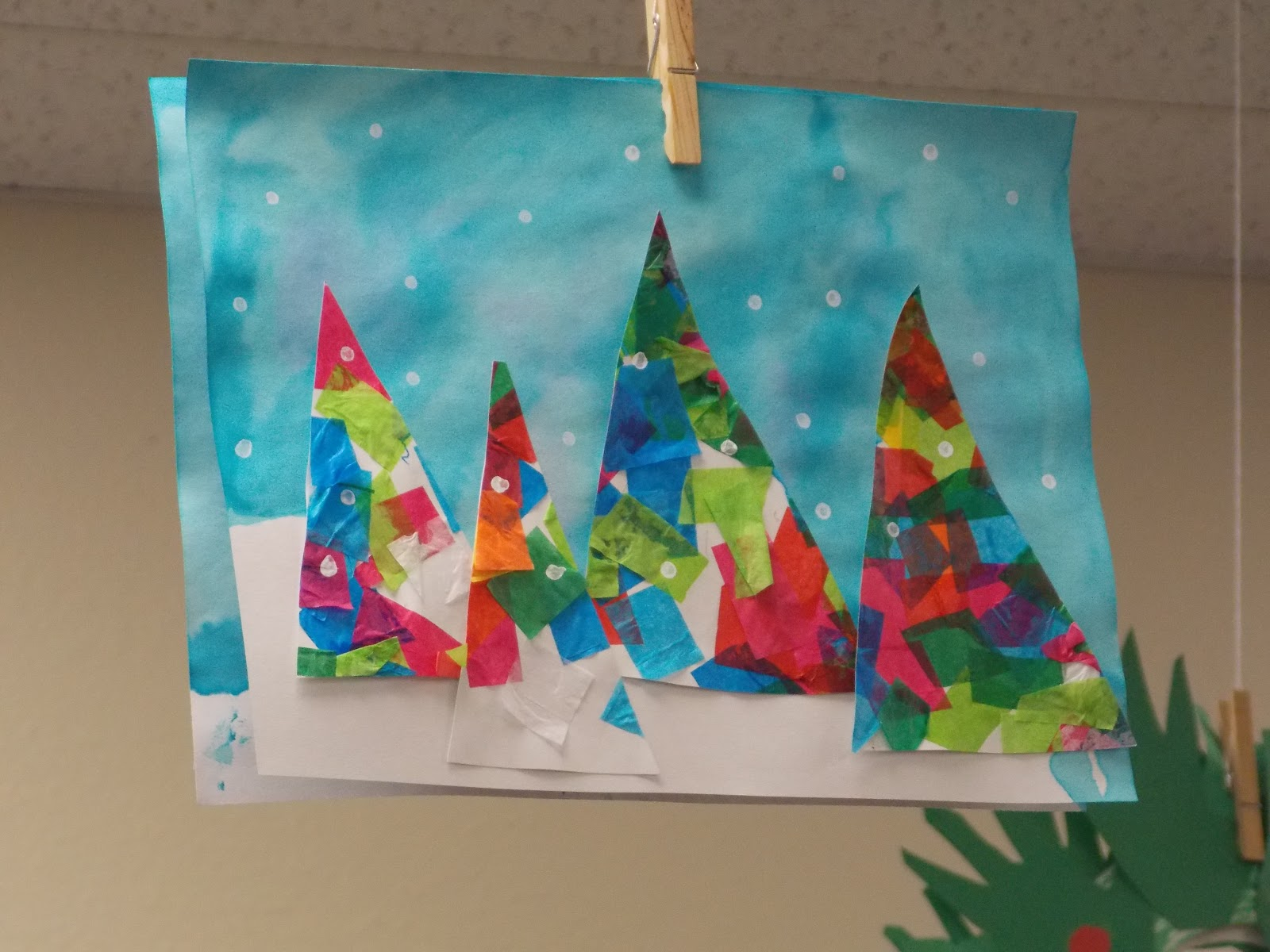 Christmas Painting Ideas Toddlers : A day in first grade my new favorite winter craft