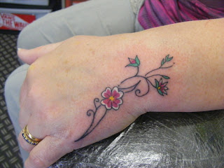 Women Hand Tattoos 4