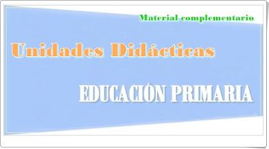 Unidades Didácticas de Educación Primaria