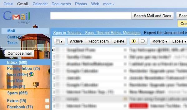 Como poner cualquier imagen de fondo en Gmail