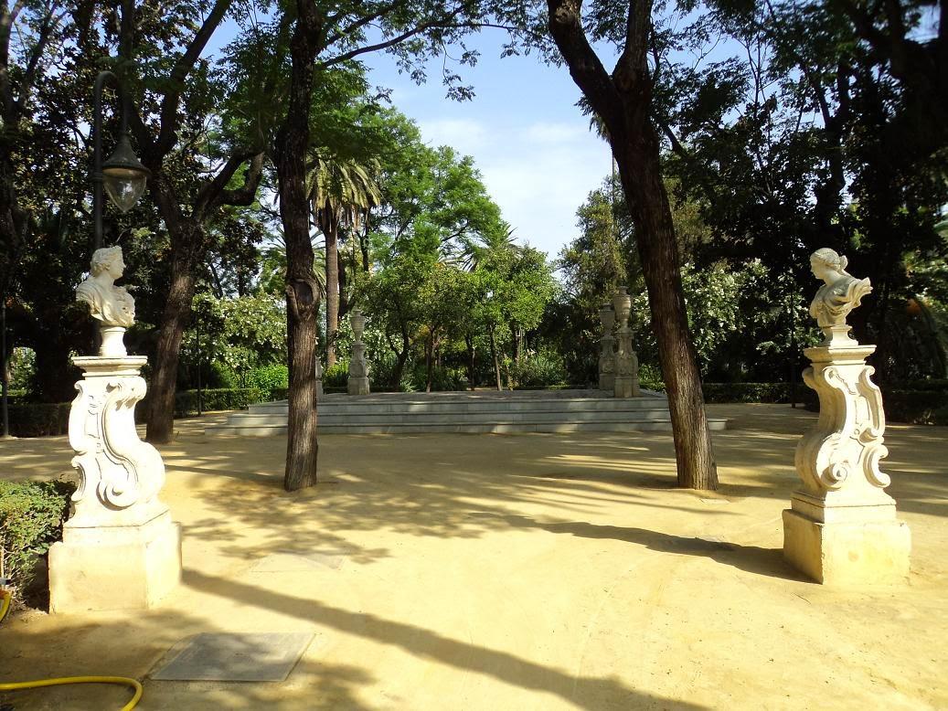 Cultura de sevilla el monumento p blico en sevilla ii for Jardines romanticos