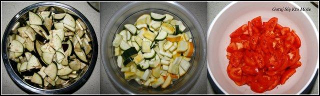 Warzywa do przygotowania ratatouille