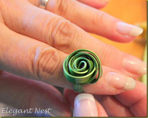 Metal Rosette Ring Tutorial