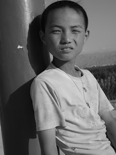 Boy in Xinjiang province