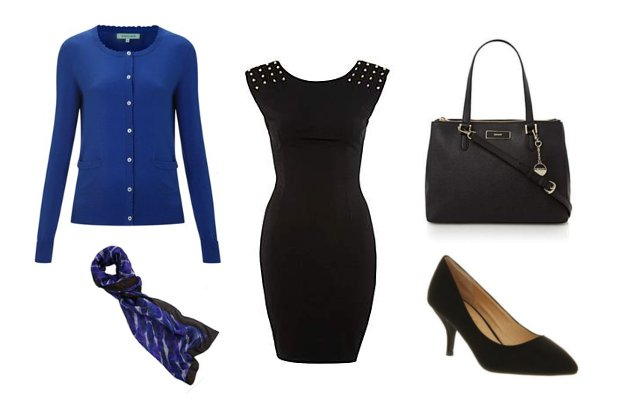 Little Black Dress - 3 ways to style it - Work Outfit - House Of Fraser