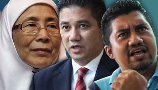 Kartel Azmin rancang gulingkan Wan Azizah