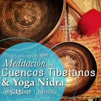 Meditación con Cuencos Tibetanos, este jueves 8 PM.