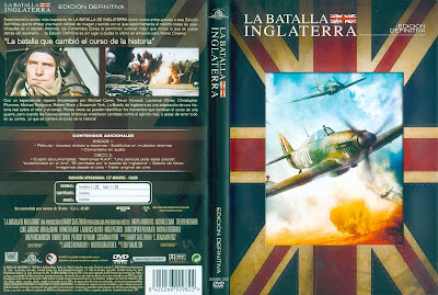 Carátula, cover, dvd: La Batalla de Inglaterra | 1969 | Battle of Britain
