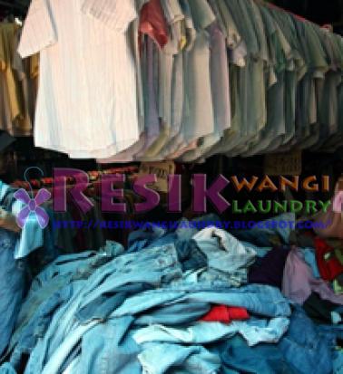 Tips Mencuci Baju / Pakaian Bekas