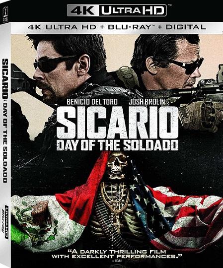 Sicario: Day of The Soldado 4K (Sicario: El día del soldado 4K) (2018) 2160p 4K UltraHD HDR BluRay REMUX 50GB mkv Dual Audio Dolby TrueHD ATMOS 7.1 ch