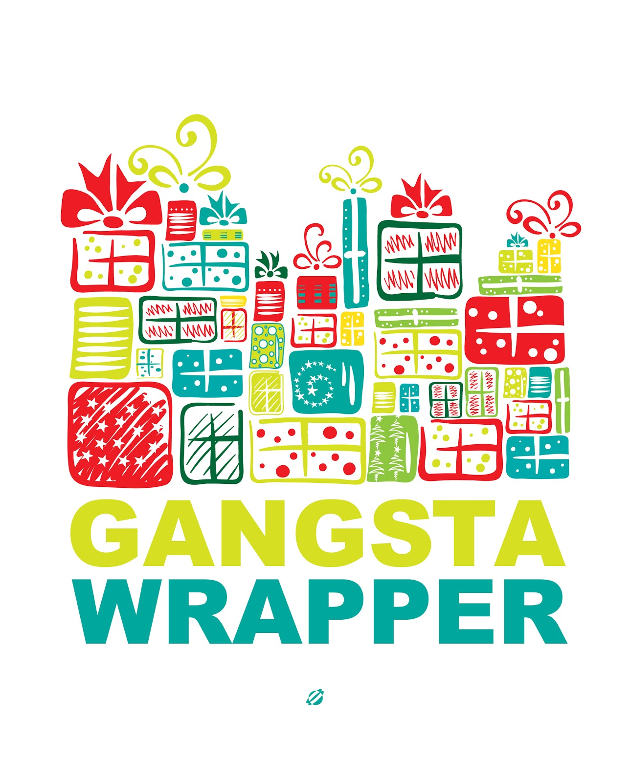LostBumblebee 2013 Gangsta'WRAPPER Free PRINTABLE