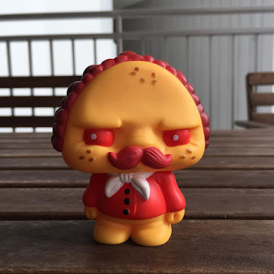 "Singapore Toy, Game and Comic Convention 2015 Exclusive ""Hot"" Paco Taco Vinyl Figure by Scott Tolleson & Pobber Toys"