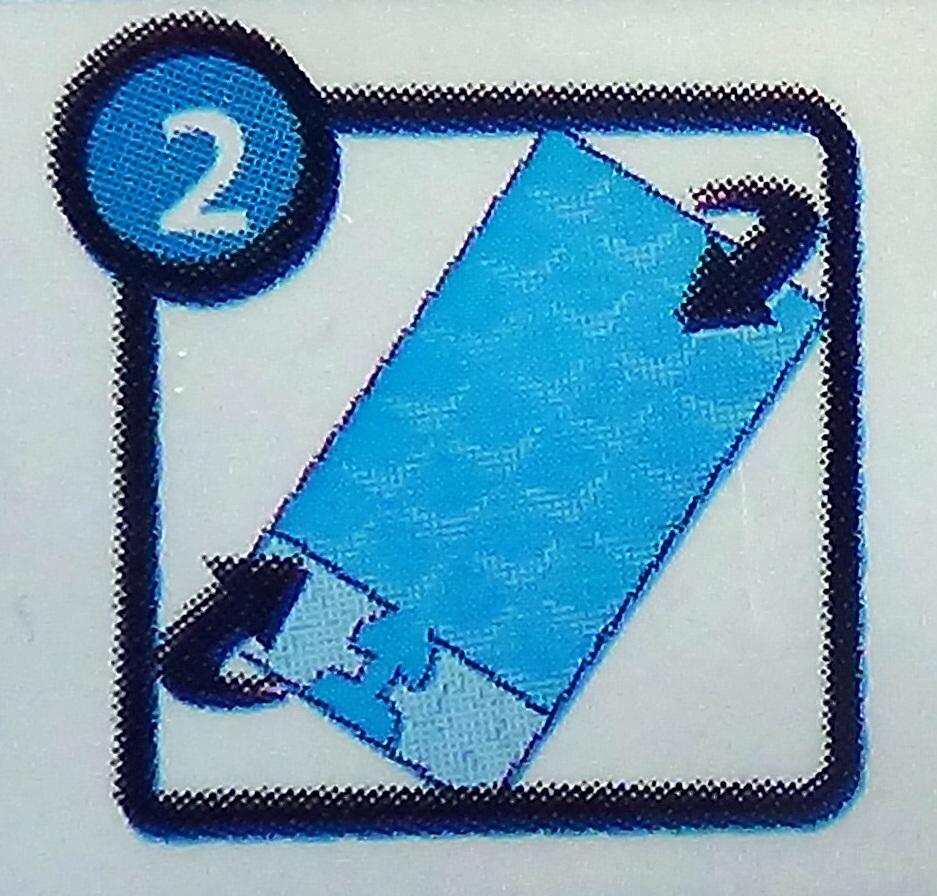 переворачиваем пакет для приготовления кубиков льда