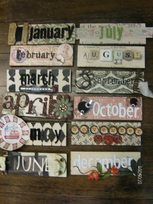Months for Calendar