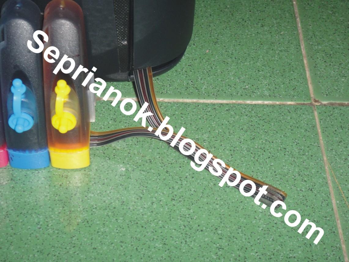 Infus Printer Canon Ip 2770 Ip2770 System Tinta Setelah Tahap Ke 13 Pemasangan Pada Pun Telah Selesai Dan Siap Untuk Di Coba Digunakan Saya Sarankan Infuse