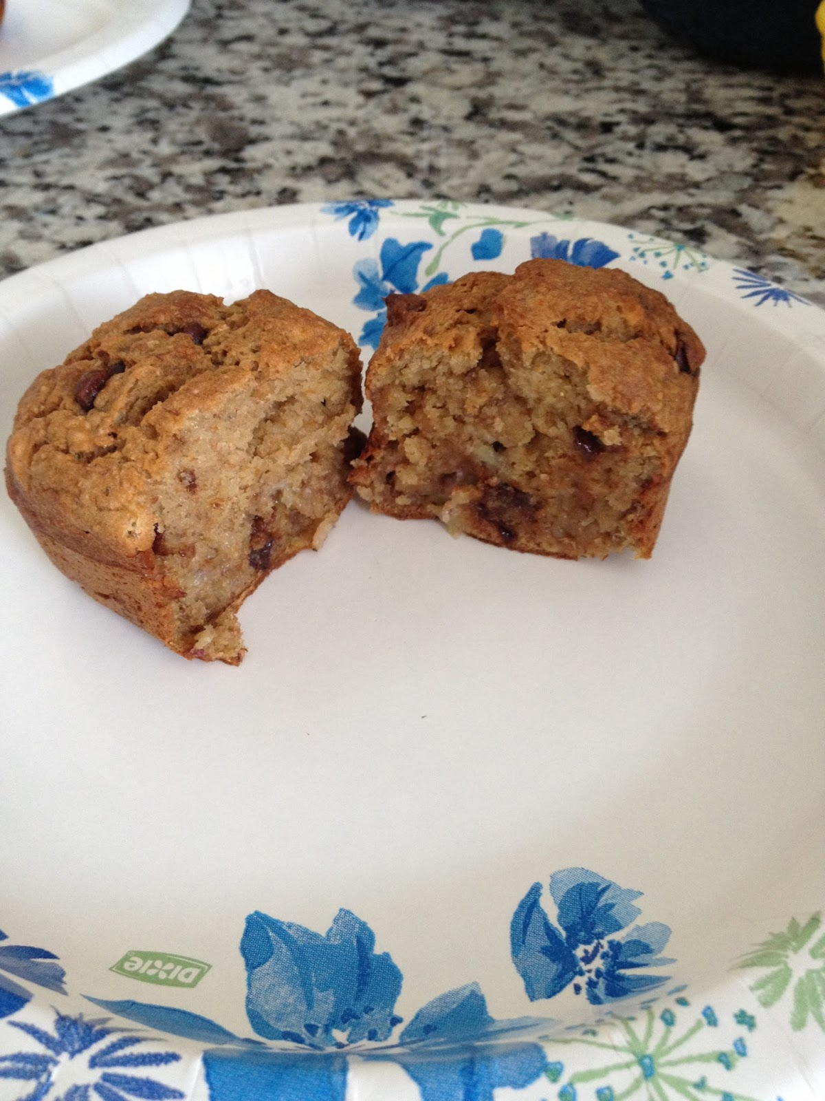 Obsessed with Food: Petite Chocolate Chip Banana Bread Loaves