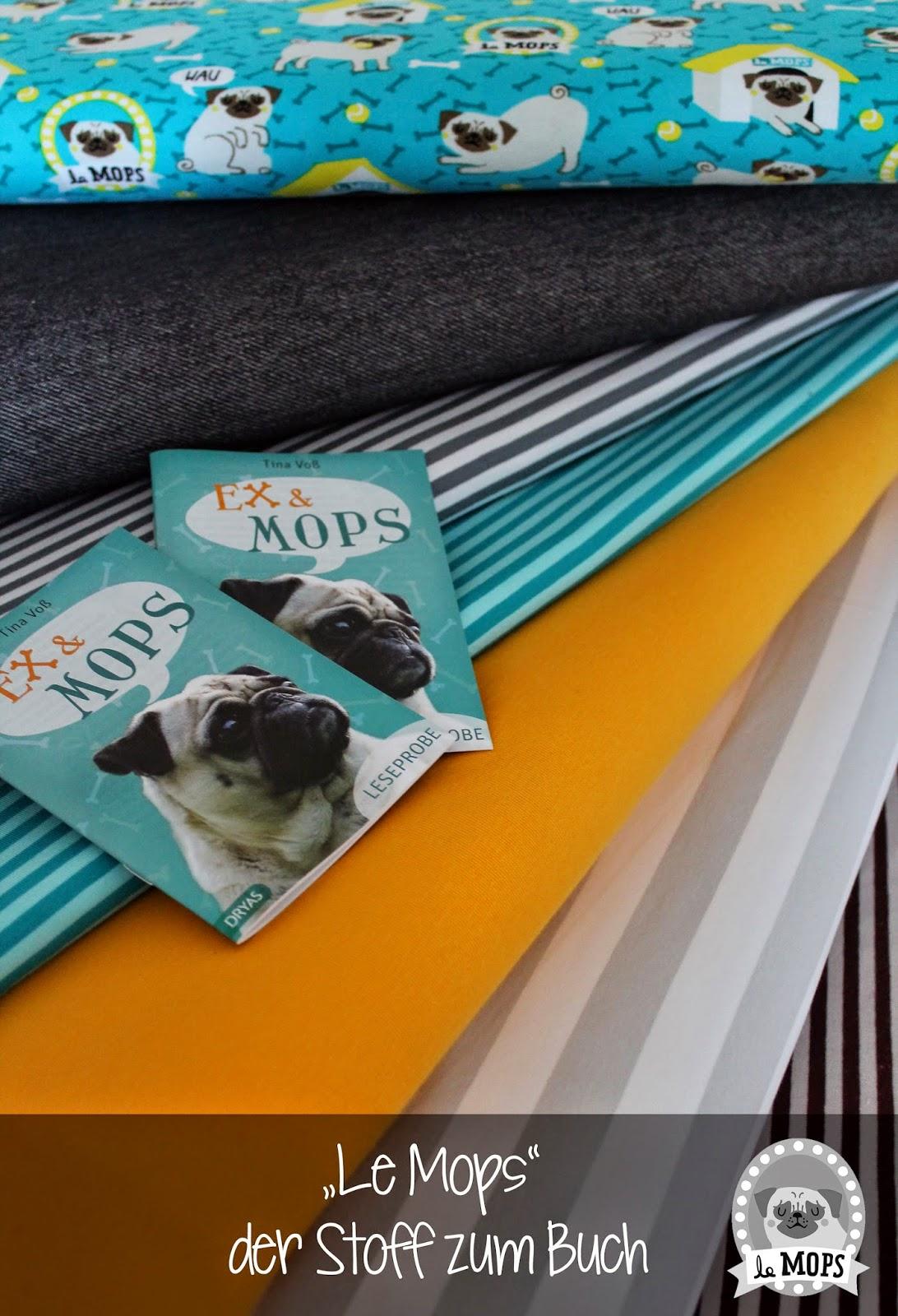 lillestoff kinderstoffe Le Mops